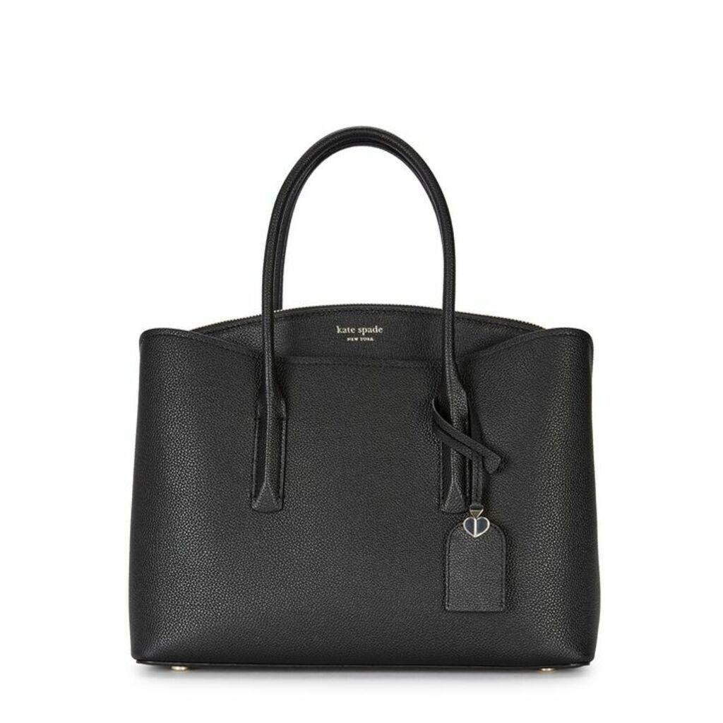 Kate Spade New York Margaux Black Leather Satchel