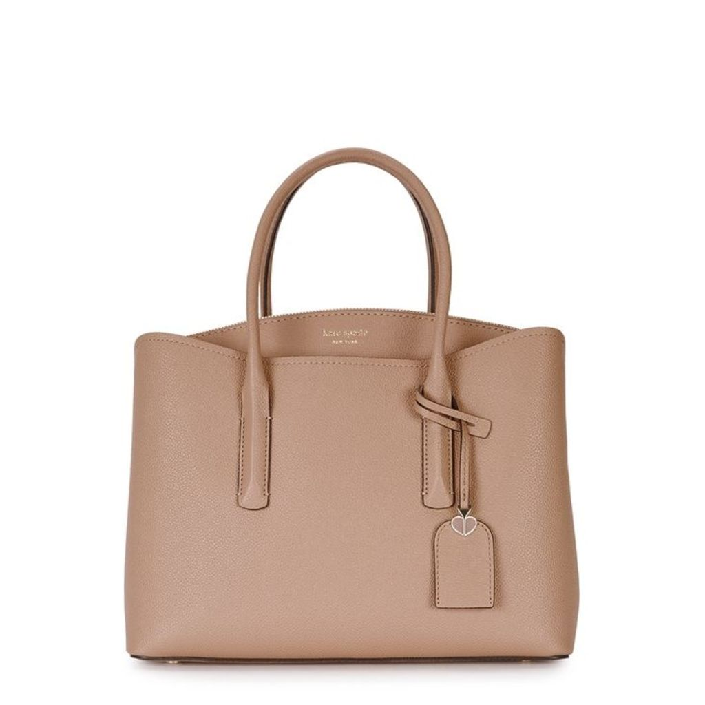 Kate Spade New York Margaux Camel Leather Satchel