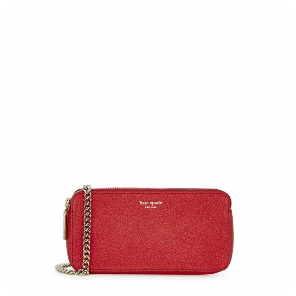 Kate Spade New York Margaux Red Leather Cross-body Bag