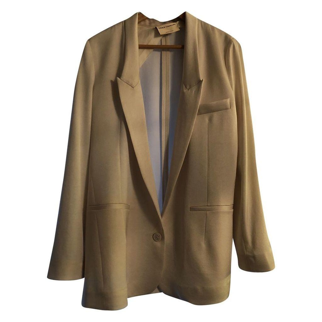 White Synthetic Jacket