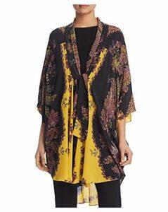Kobi Halperin Kate Printed Silk Kimono - 100% Exclusive