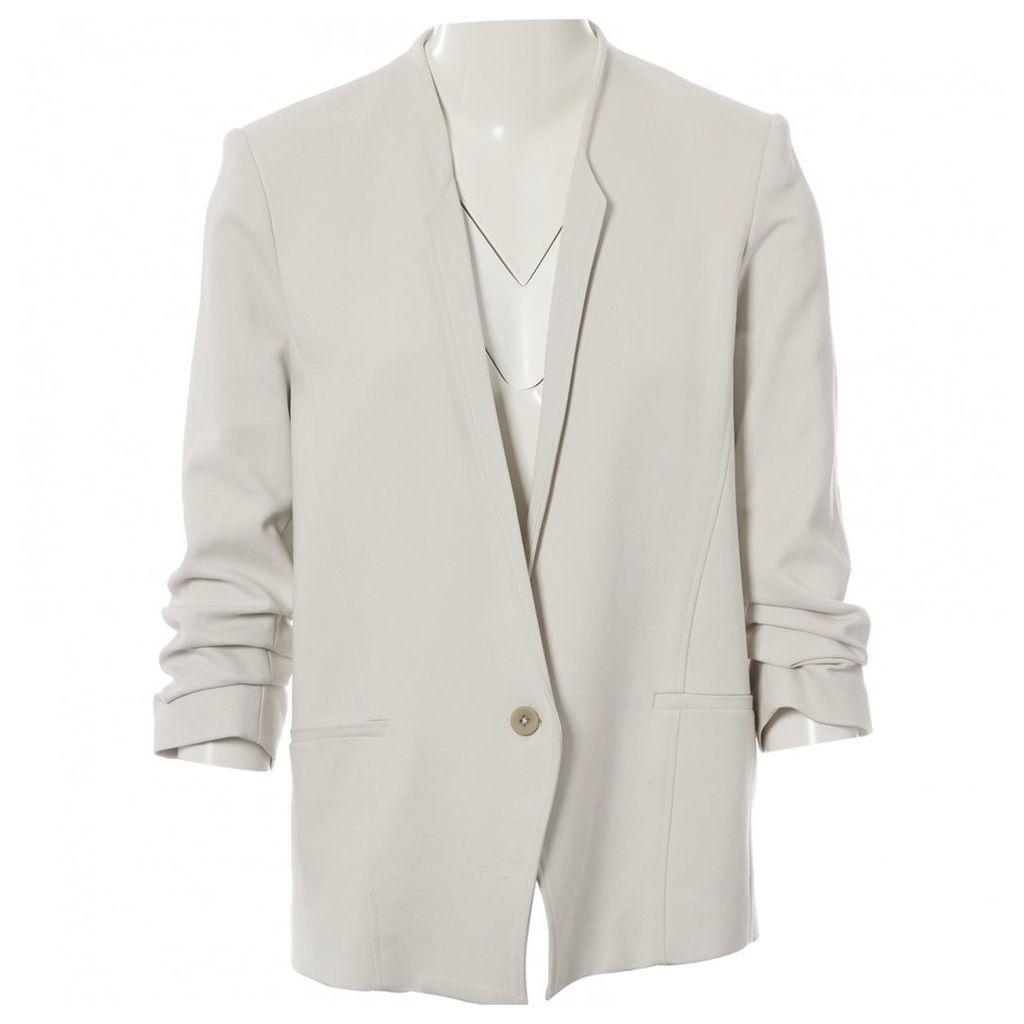 Grey Viscose Jacket