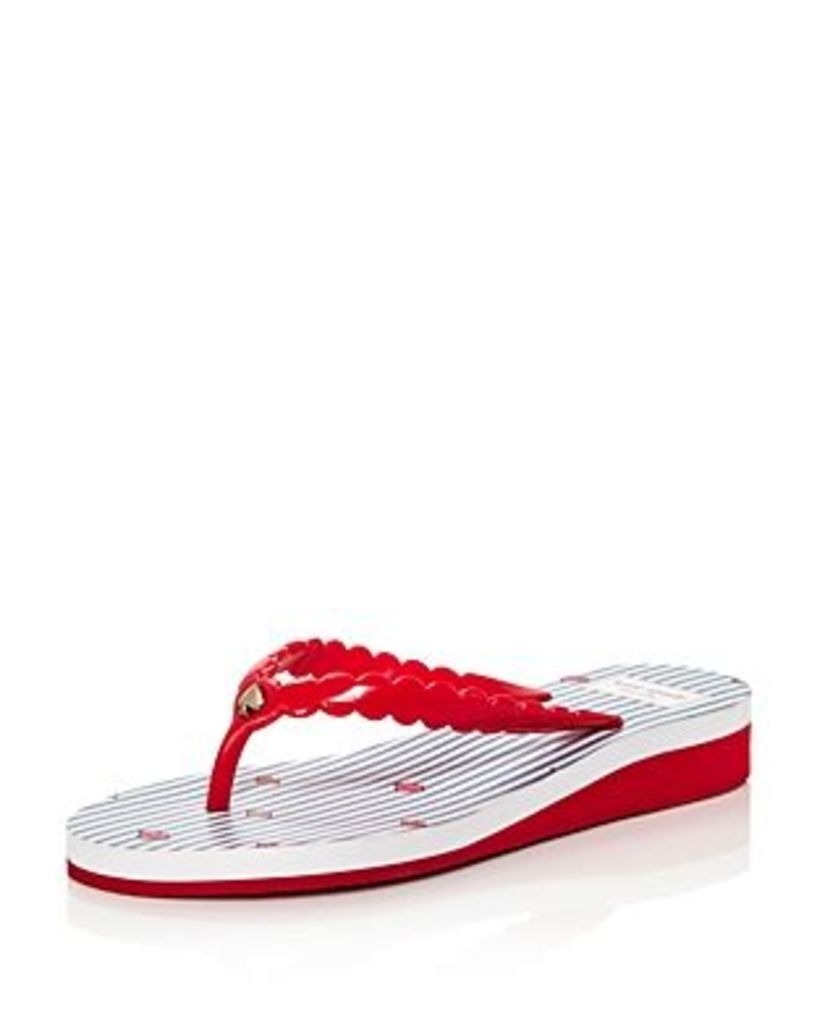 kate spade new york Women's Malta Platform Flip-Flops
