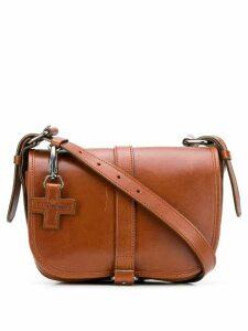 A.F.Vandevorst foldover crossbody bag - Brown