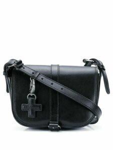 A.F.Vandevorst foldover crossbody bag - Black