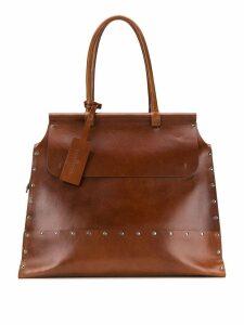 A.F.Vandevorst top handle tote bag - Brown