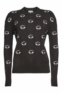 Kenzo Cotton Embroidered Sweater