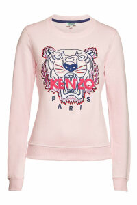 Kenzo Cotton Sweatshirt with Logo Embroidery