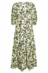Kenzo Printed Cotton Long Dress
