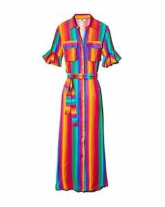 All Things Mochi Leilani Rainbow Stripe Dress