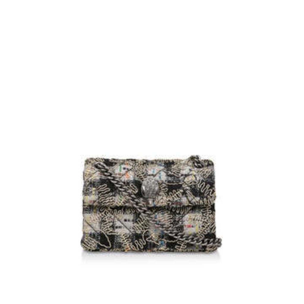 Kurt Geiger London Tweed Mini Kensington - Tweed Mini Shoulder Bag