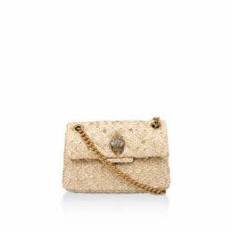 Kurt Geiger London Raffia Mini Kensington - Raffia Mini Shoulder Bag