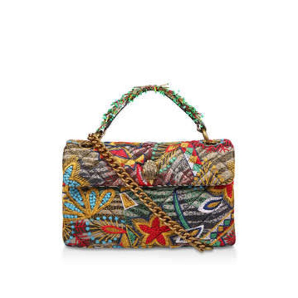 Kurt Geiger London Fabric Kensington Bag - Fabric Shoulder Bag