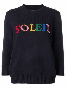 Chinti & Parker Soleil knitted sweater - Blue