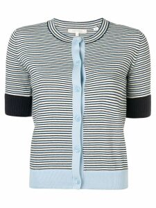 Chinti & Parker striped knitted cardigan - Blue