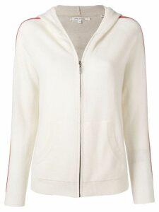 Chinti & Parker zip-up wool hoodie - Neutrals