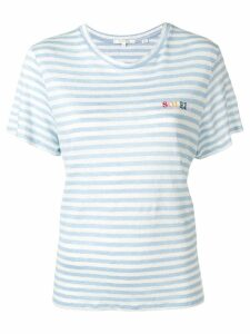 Chinti & Parker Soleil striped knitted top - Blue
