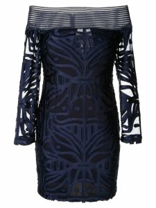Alice Mccall Lunar Eclipse mini dress - Blue