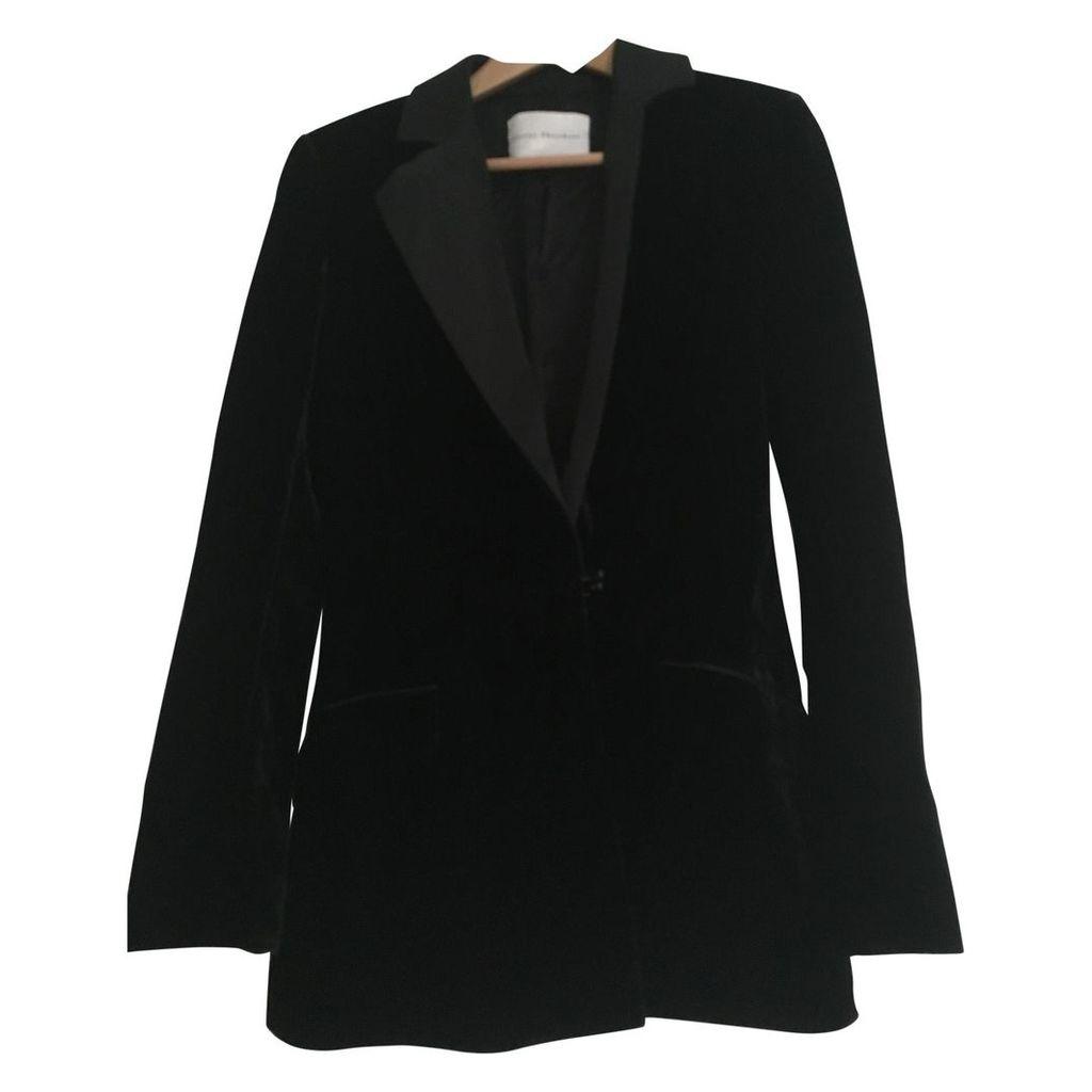 Velvet suit jacket
