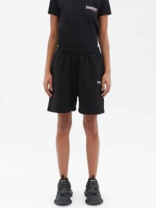 Gucci - Floral Jacquard Wool Blend Midi Skirt - Womens - Black Multi