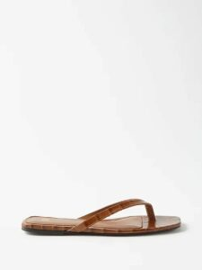 Gucci - Ruffled Pussy Bow Crinkled Cotton Poplin Shirt - Womens - Blue