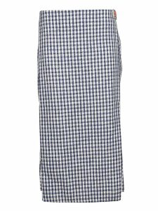 Simon Miller Plaid Pattern Skirt