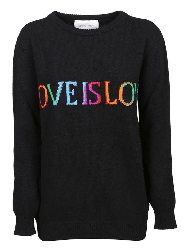 Alberta Ferretti Love Is Love Jumper