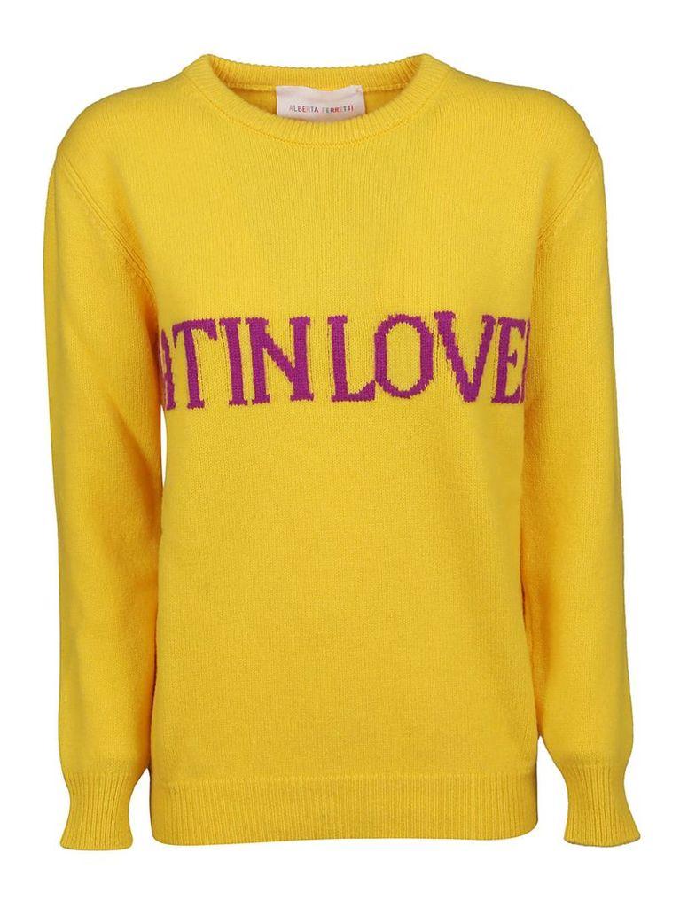 Alberta Ferretti Latin Lover Sweater