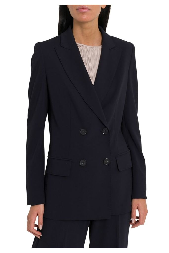 Max Mara Polka Double-breasted Blazer