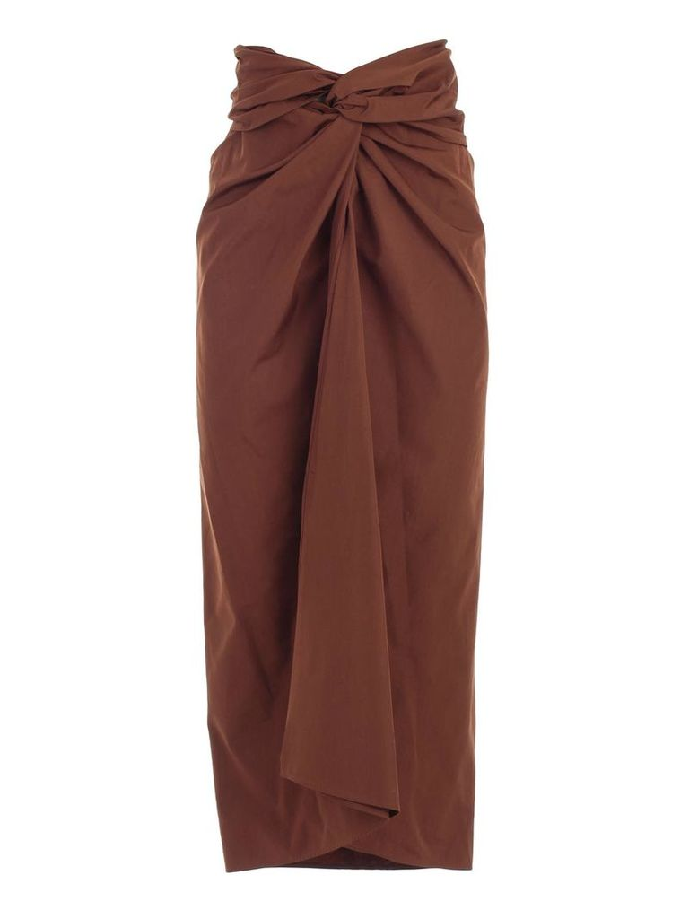 Max Mara Ruched Skirt