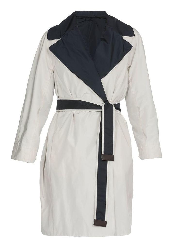 Max Mara Reversible Raincoat
