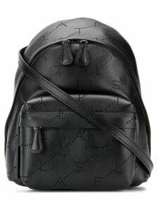 Stella McCartney mini monogram backpack - Black