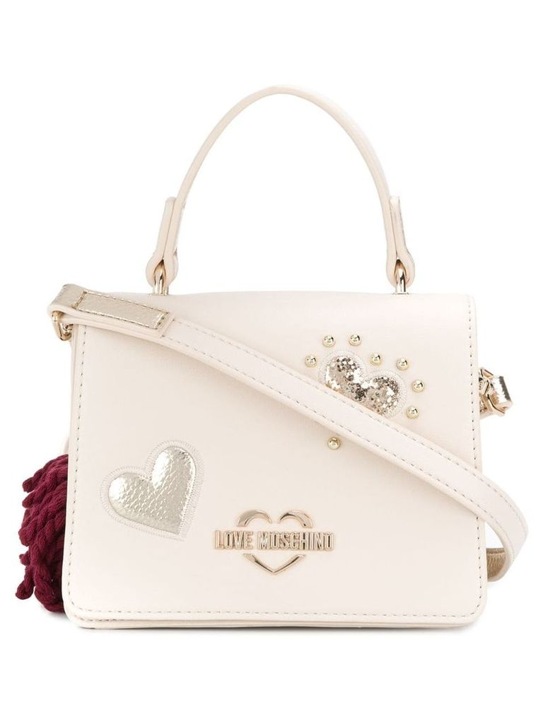 Love Moschino logo tote bag - Neutrals