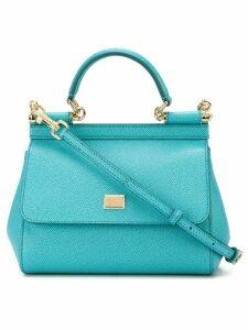 Dolce & Gabbana small 'Sicily' tote - Blue