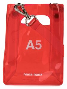 Nana-Nana A5 tote bag - Red