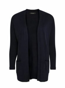 Navy Blue Popper Cardigan, Navy