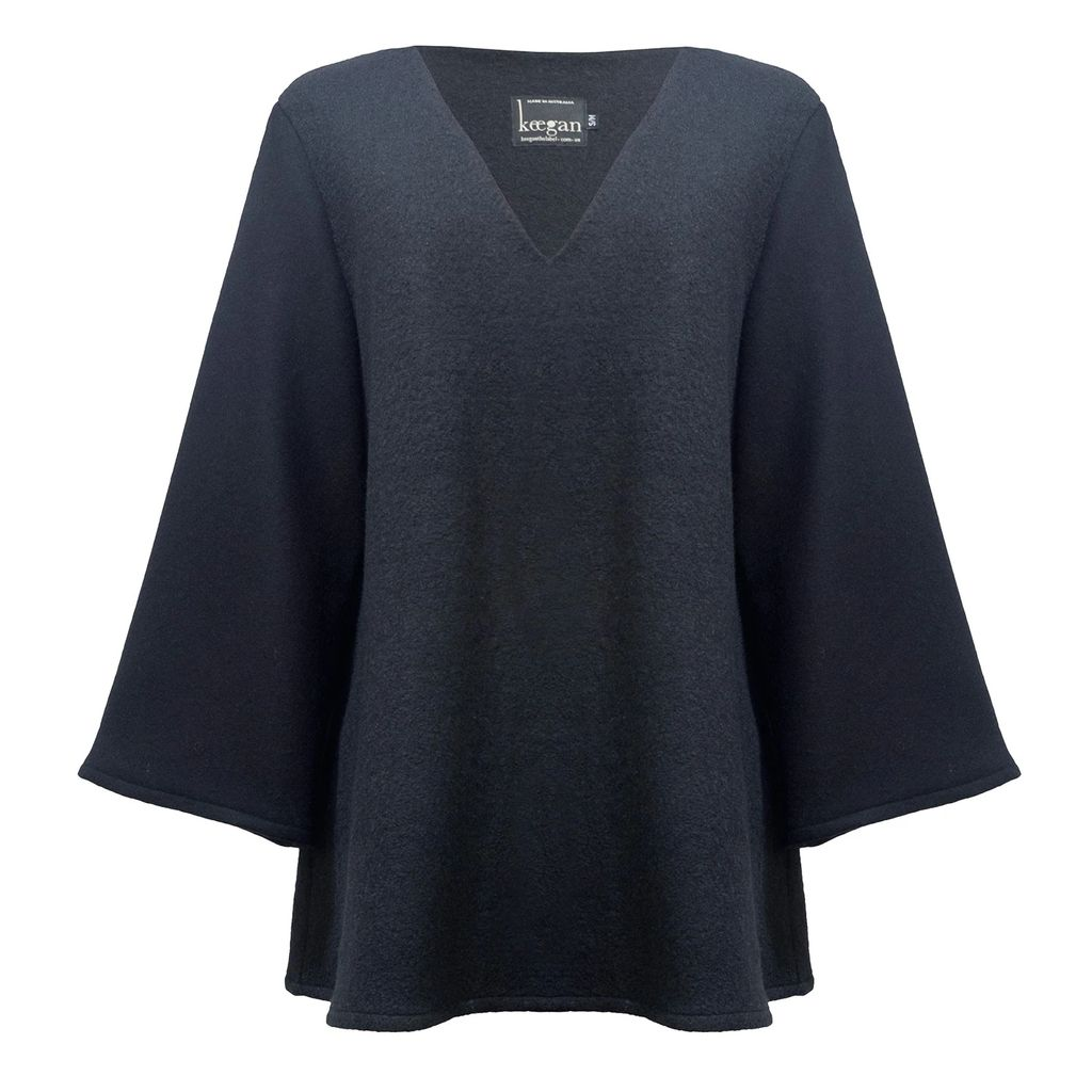 Nissa - H Line Dress With Detailed Sleeves