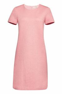 Harris Wharf London Canvas Short Sleeved Shift Dress