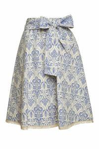 Steffen Schraut Bohemian Cotton Skirt