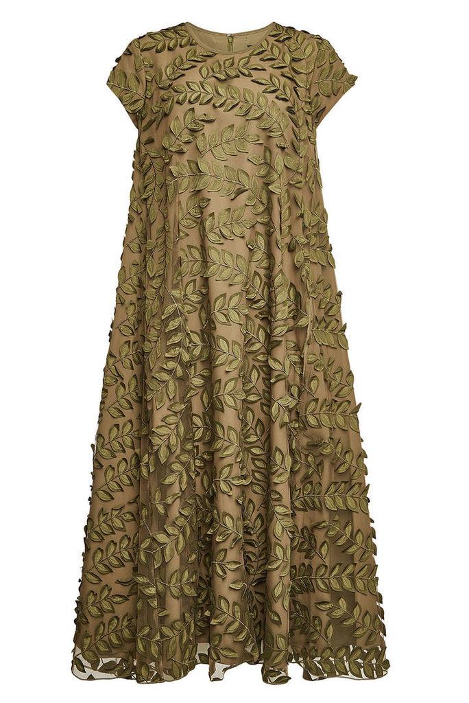 Steffen Schraut Lace Dress with Self-Tie Bow