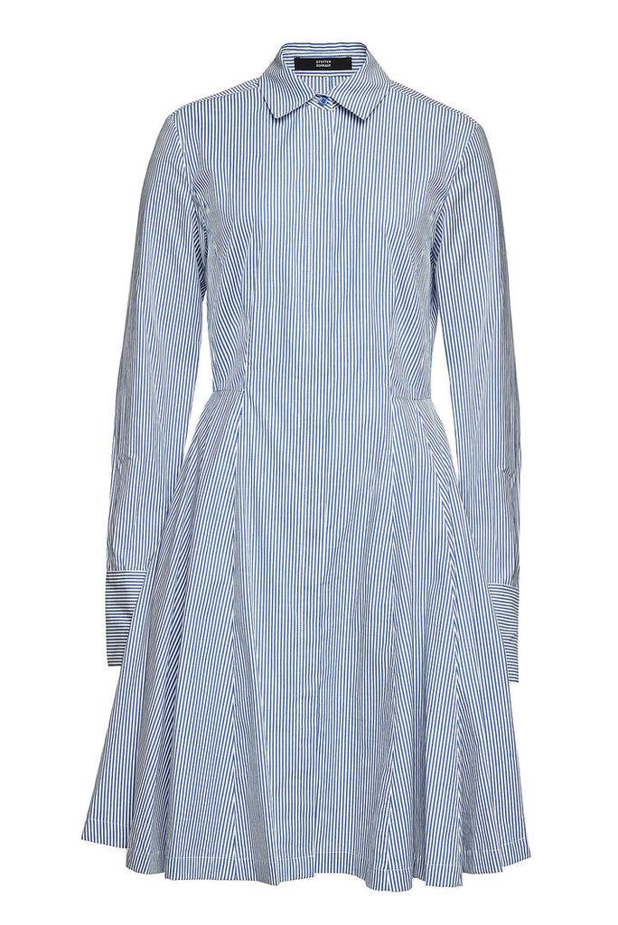 Steffen Schraut Striped Cotton Dress