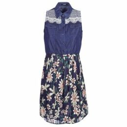 Desigual  ALOHA  women's Dress in Blue