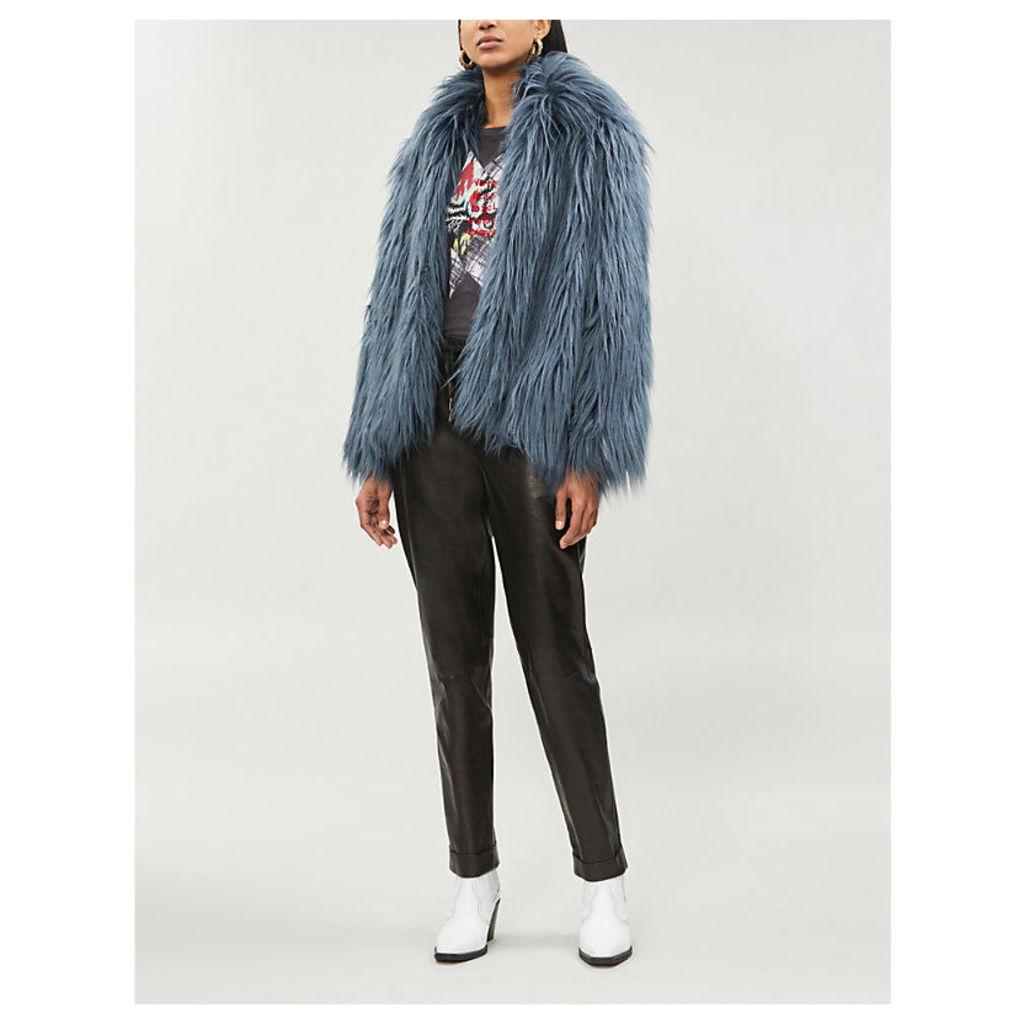 Fridy faux-fur coat