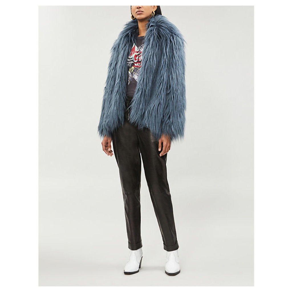Fridy faux-fur coat