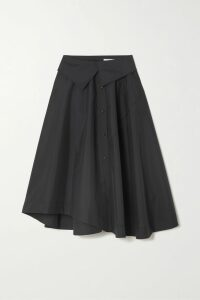 GANNI - Broderie Anglaise Cotton Mini Dress - Black