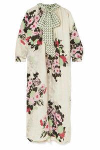 Yvonne S - Hippy Printed Cotton Midi Dress - Mint