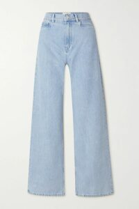 GANNI - Asymmetric Broderie Anglaise Cotton Skirt - Black