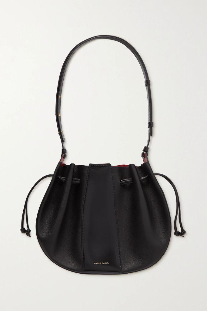 Thom Browne - Striped Grosgrain-trimmed Pleated Merino Wool Dress - Navy