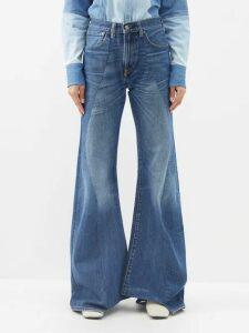 Worme - The High Neck Sandwashed Silk Mini Dress - Womens - Dark Beige