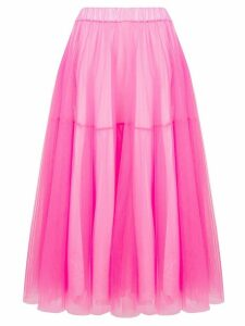 P.A.R.O.S.H. midi tulle skirt - Pink